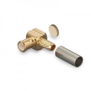 Разъём MCX(male) обжимной под кабель RG174 и RG316